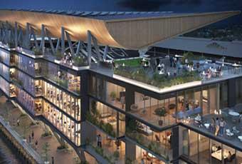 Fulham Riverside Stand – London